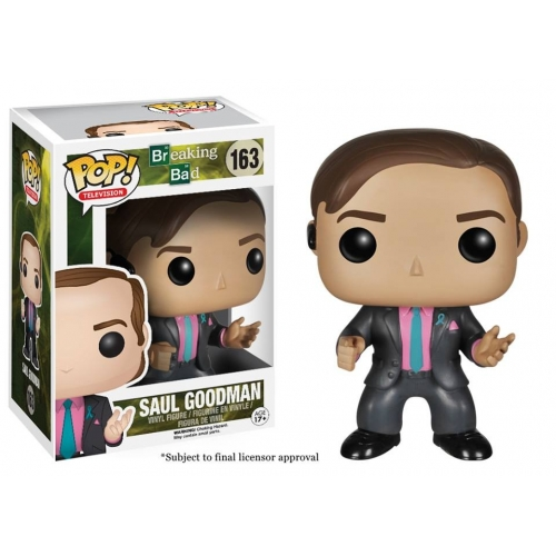 Breaking Bad - Figurine Pop Saul Goodman 10cm