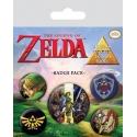 The Legend of Zelda - Pack 5 badges Link