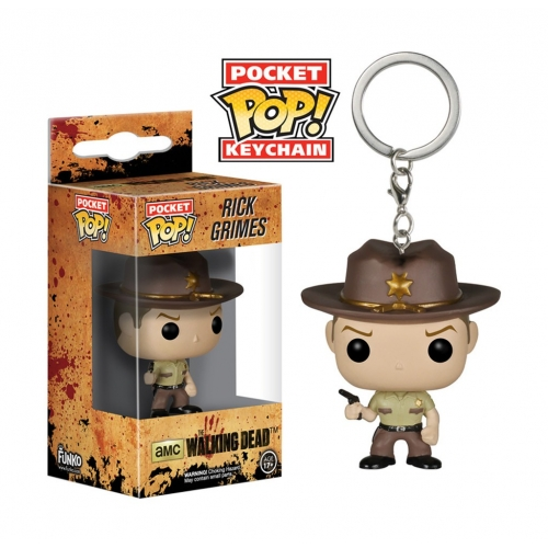 Walking Dead - Pocket Pop Rick Grimes 4cm