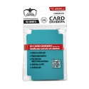 Ultimate Guard - 10 intercalaires pour cartes Card Dividers taille standard Bleu Pétrole