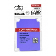 Ultimate Guard - 10 intercalaires pour cartes Card Dividers taille standard Violet