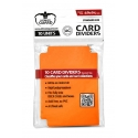 Ultimate Guard - 10 intercalaires pour cartes Card Dividers taille standard Orange