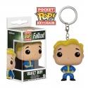 Fallout - Porte-clés Pocket POP! Vault Boy 4 cm