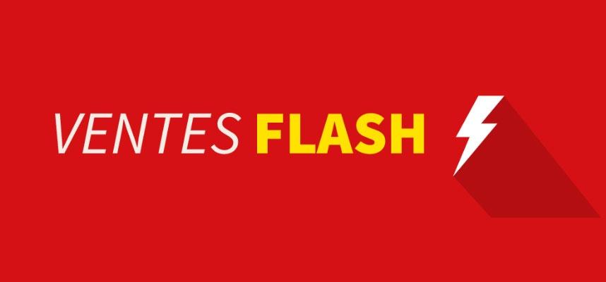 Vente Flash - Nouvelles offres tous les jours !